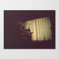 日ではなく、自宅で [At Home] Canvas Print