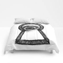 Peering Comforters
