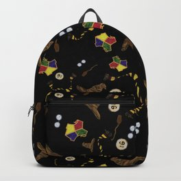 A Very Potter Pattern Backpack