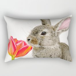 Smells Like Spring Rectangular Pillow