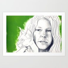 Sierra - People I Know Art Print