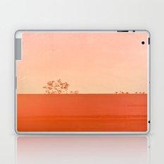 Red Wall Laptop & iPad Skin