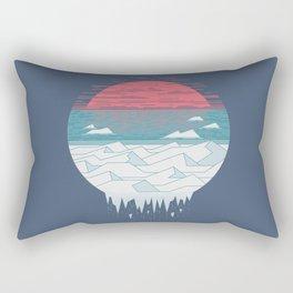 The Great Thaw Rectangular Pillow
