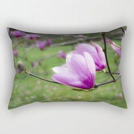 Tulip Flower on Tree Rectangular Pillow