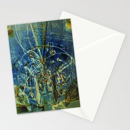 flying pig machine 14 Stationery Cards