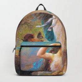 Evening - Hans Zatzka Backpack