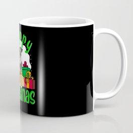 Miniature Schnauzer Dog Merry Christmas Coffee Mug