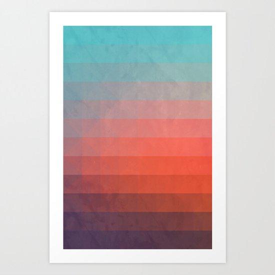 Blww wytxynng Art Print