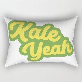 Kale Yeah Rectangular Pillow