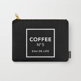 Black Coffee No5 Carry-All Pouch