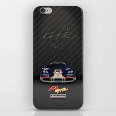 1995 McLaren F1 GTR Le Mans - Gulf Livery iPhone & iPod Skin