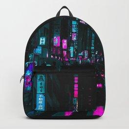 cyberpunk lost street Backpack