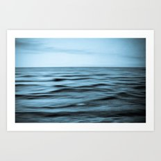 About the Sea I Art Print