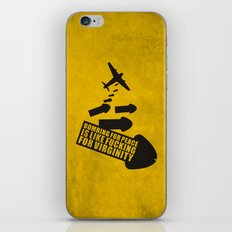 Bombing for peace... iPhone & iPod Skin
