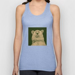 Kodiak Bear Unisex Tank Top