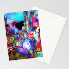 Boston Lights Remix Stationery Cards