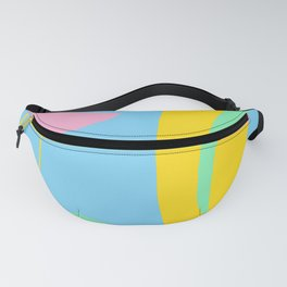 Colorful Abstract Shapes Fanny Pack