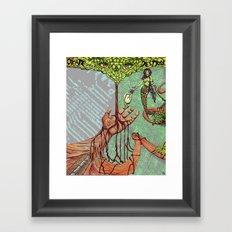 Create Destroy Framed Art Print