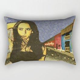 Nicaraguan Streets Rectangular Pillow
