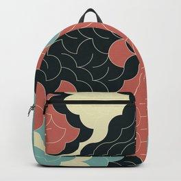 Abstract Geometric Artwork 92 Backpack
