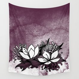 Flower Tangle Wall Tapestry