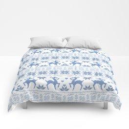 Christmas pattern. Cross-stitch. 2 Comforters