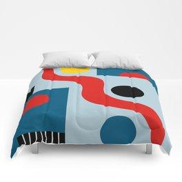 SWIMMERS IN WEIMAR Comforters