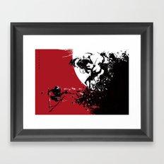 one versus many Framed Art Print