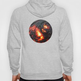 Flaming Seashell 4 Hoody