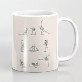 Skeleton Yoga Coffee Mug
