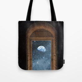 DOOR TO THE UNIVERSE Tote Bag