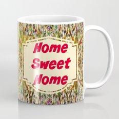 Stained Glass Home Sweet Home  Mug