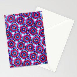 Synapse Pattern Stationery Cards