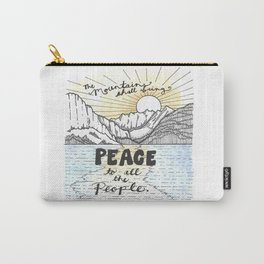 Colorful Mountains Carry-All Pouch