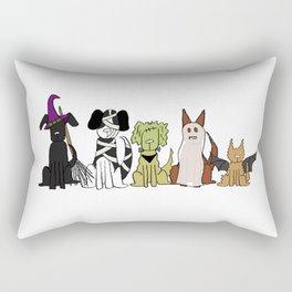 Bark-or-Treat Rectangular Pillow