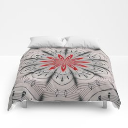 Our Tune Abstract Comforters