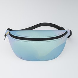 Blue serenity Fanny Pack