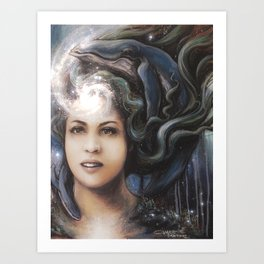 Mermaid's Reverie Art Print