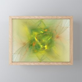 Folds In Paradise Framed Mini Art Print