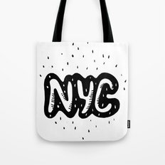 NYC lettering series: #1 Tote Bag