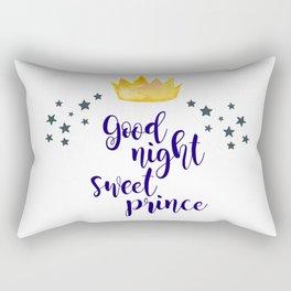 Good Night Sweet Prince Nursery Decor Rectangular Pillow