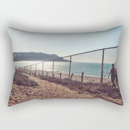 Hiking  view Rectangular Pillow