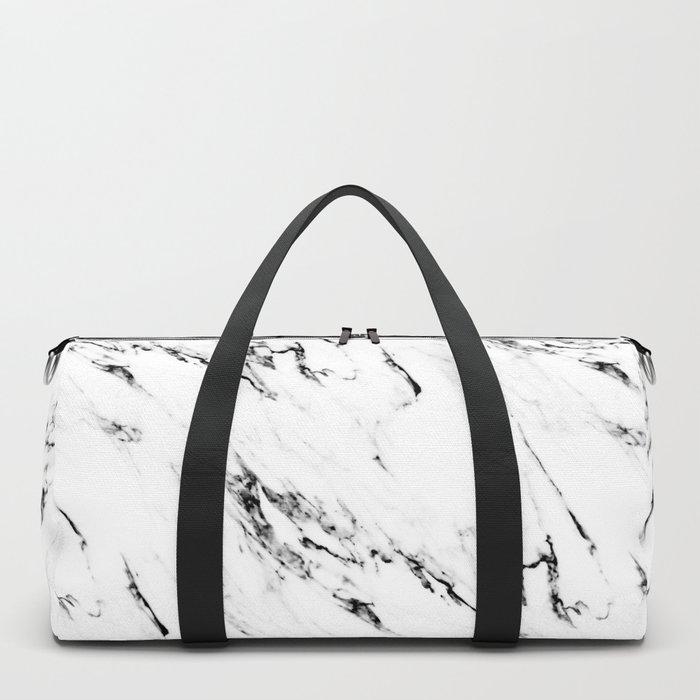 Classic Marble Duffle Bag
