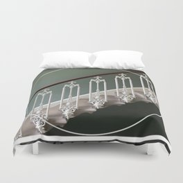 Stairway to Heaven - graphic design Duvet Cover