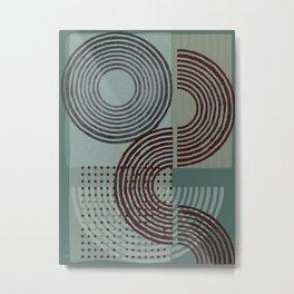 Natural Geometry XI Metal Print