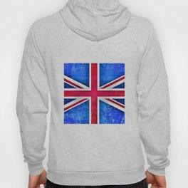 Grunge British Flag Hoody