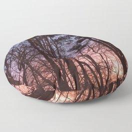 Rainbow Woods Floor Pillow