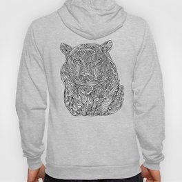 The power of the tiger Hoody