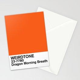 Dragon Morning Breath Stationery Cards