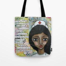 Nurse - African American  Tote Bag